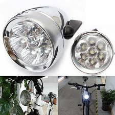 Weimostar Waterproof 7 LED Metal Shell Bicycle Head Light <b>Retro</b> ...