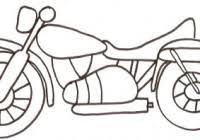 Disegni Di Moto Scooter E Motocicli Per Bambini Da Colorare
