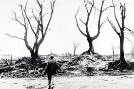 hiroshima th anniversary nuclear bomb should never be used   a scene of devastation after the american atom bomb attack on hiroshima seen