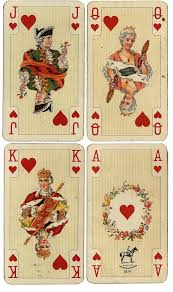 Printable Playing Card Antique French Playing Cards Free Large Printables Wings