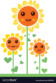 free image flowers 2. Delighful Image Kawaii Flowers 2 Vector Image In Free Image Flowers L