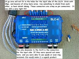 phase 1 audio upgrade [archive] ford truck club forum Painless Wiring Harness Diagram at Scosche Line Output Converter Wiring Diagram