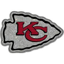 When the team relocated to kansas city in 1963, taylor was actually commissioned to create a new logo that remained. Kansas City Chiefs Laser Cut Glitter Freeform Auto Emblem