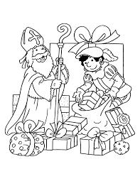 Kleurplaten Van Sint En Piet 100 Kleurplaat Zwarte Piet Op Het Dak