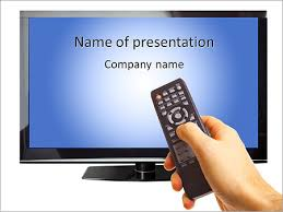 tv powerpoint templates smart tv powerpoint template backgrounds id 0000007026