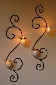 holder wrought iron candle holders