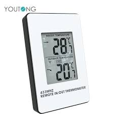 remote outdoor thermometer digital wireless 8 channel indoor hygrometer with three sensor
