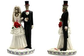 Love Never Dies Bride And Groom Cake Toppers Neatorama