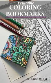 Explore 623989 free printable coloring pages for your kids and adults. Free Printable Bookmarks To Color That Kids Craft Site
