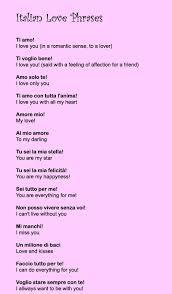 Italian Love Quotes Best Italianlovephrases Language Pinterest Language Italian