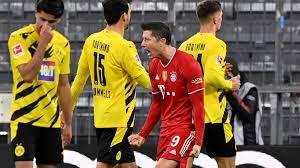 Borussia dortmund take on bayern munich on tuesday, august 17. Bayern Munich 4 2 Borussia Dortmund Lewandowski Outguns Haaland With Klassiker Hat Trick