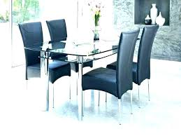 extending glass dining table rectangular square tables for 4 small top set