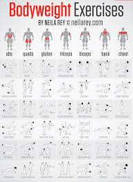 Chest Chart Gym Bodyweight Sada Margarethaydon Com
