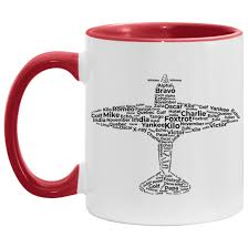 Learners of foreign languages use the ipa to check exactly how words are pronounced. Pilot Gifts For Him Aviation Phonetic Alphabet Ceramic Mug Cubebik