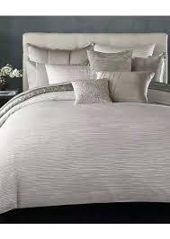 donna karan duvet new reflection king jacquard cover silver retail s donna karan tidal duvet cover bedding