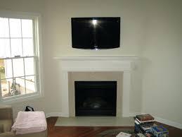 diy mount tv brick fireplace mounted ct home stone