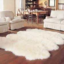 8 piece sheepskin rug