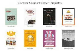 Free Birthday Posters Designcap A Free Online Tool That Helps You Make Brilliant Posters