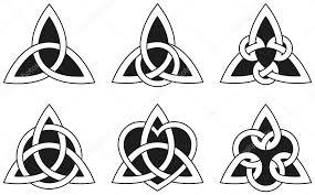 Keltské Trojúhelník Uzlů Stock Vektor Furian 29122229