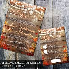 best 25 fall wedding invitations ideas only on pinterest maroon Diy Wedding Invitations Fall Theme rustic wedding invitation mason jar wedding fall wedding string lights diy printable rustic fall wedding invitation set printable wedding Fall Color Wedding Invitations