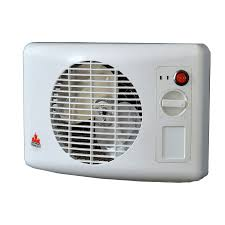 seabreeze 1500 watt fan wall mount electric space heater with thermostat energy saving setting