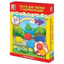 Детское творчество <b>ЛУЧ</b> Тесто для <b>лепки</b> с формочками ...