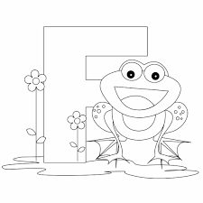 letter f color pages f coloring pages