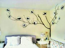 wall decoration with paper birds stylish bedroom decorating ideas design pictures of beautiful modern bedrooms decorations