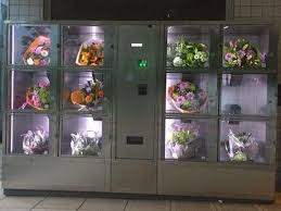 Flower Vending Machine For Sale Inspiration NL Flower Vending Machine At Metro Station Flower Vending