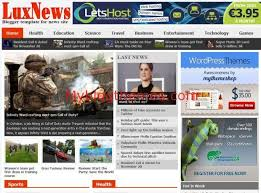 Last News Free Blogger Template Download Blogger News