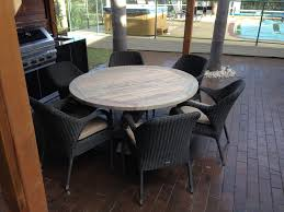 outdoor furniture dining teak taste es