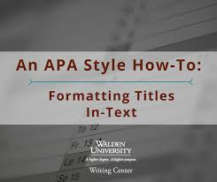 apa style front cover an apa style how to formatting titles in text