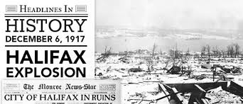 Halifax Explosion: December 6, 1917 - Fishwrap The official blog of  Newspapers.com