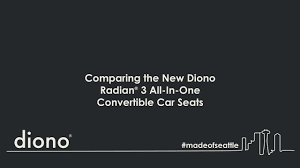 Diono Comparing The New Radian 3 Car Seats