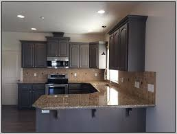 gray stain for kitchen cabinets