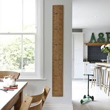 Wooden Height Chart Personalised Wooden Ruler Height Chart Kids Rule
