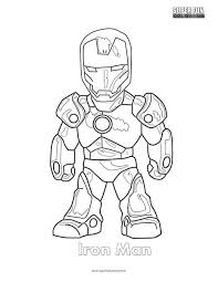 First, he's not a mighty god like thor but he can create an arsenal whose power can rival the gigantic villainous god. Iron Man Coloring Page Super Fun Coloring