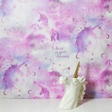 Galaxy Unicorn by Arthouse - Pink ...