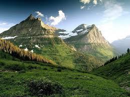 Wallpaper Nature Green Mountains