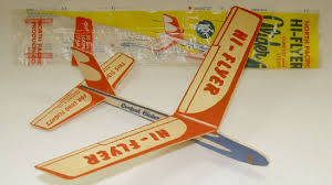 take balsa wood airplanes for example back in the day these packaged gliders cost only a few cents could be assembled