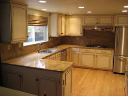 Restaining Kitchen Table Refinishing Oak Kitchen Cabinet Doors Cliff Kitchen