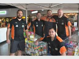 edenvale round table collects much needed donations