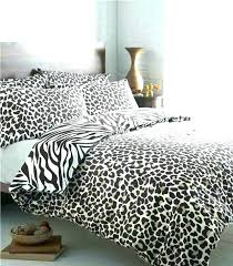 cheetah print comforter set queen pink and grey bedding new cool