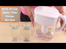 Brita 10 cup Everyday Water Filter Pitcher Review YouTube