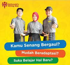 Banyak lowongan kerja padang, sebanyak 30 loker padang by lowongan kerja 15. Lowongan Kerja Crew Mcdonald S Tangerang Info Loker Serang