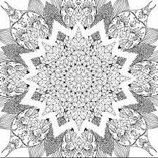 Free Mandala Coloring Pages For Adults New ôì ìâì ìéœ Mandala