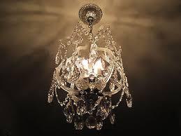 schonbek olde world swarovski strass crystal pendant chandelier
