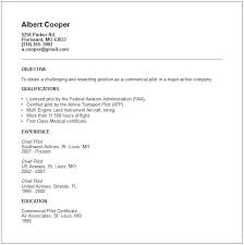 Pilot Resume Template Cool Sample Airline Pilot Resume Pilot Resume Sample Example Cooperative