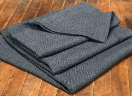 washable merino wool herringbone blanket  brahms mount