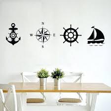 nautical wall stickers diamond embroidery anchor compass rudder sailboat nautical wall stickers home decor living room nautical wall stickers